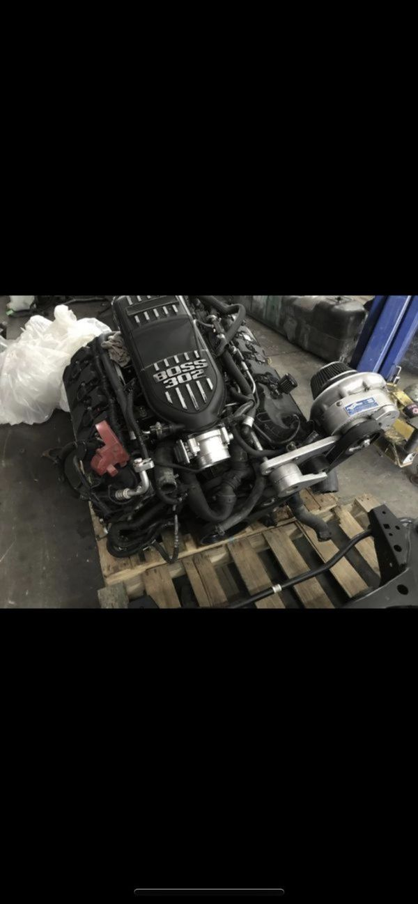 2011-2014 Ford Mustang 5 0 coyote motor supercharger swap