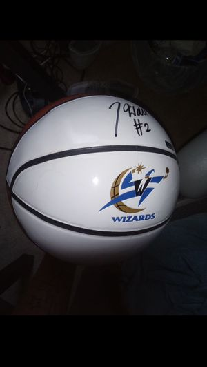 John Wall autographed basketball for Sale in Columbia, MD