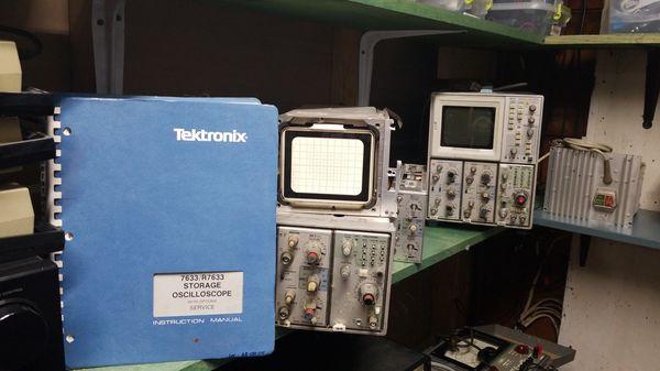 tektronix 7633 oscilloscope manual