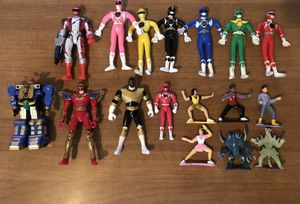 Lot of power ranger action figure toys for Sale in Dundalk, MD