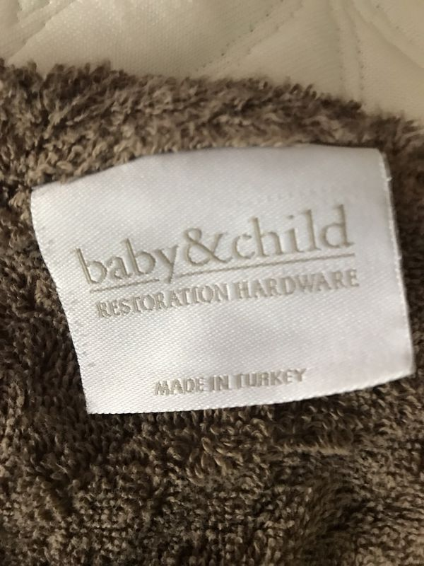 Incredible Restoration Hardware Baby Bath Towel For Sale In Canton Mi Offerup Download Free Architecture Designs Scobabritishbridgeorg