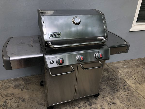 Weber Genesis S 310 >> 800 Weber Genesis S 310 Natural Gas Bbq Grill Gently Used