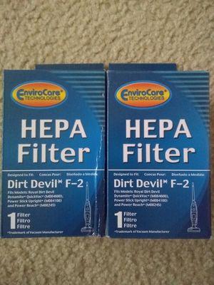 HEPA Filter for Dirt devil vacuum cleaner for Sale in Rockville, MD