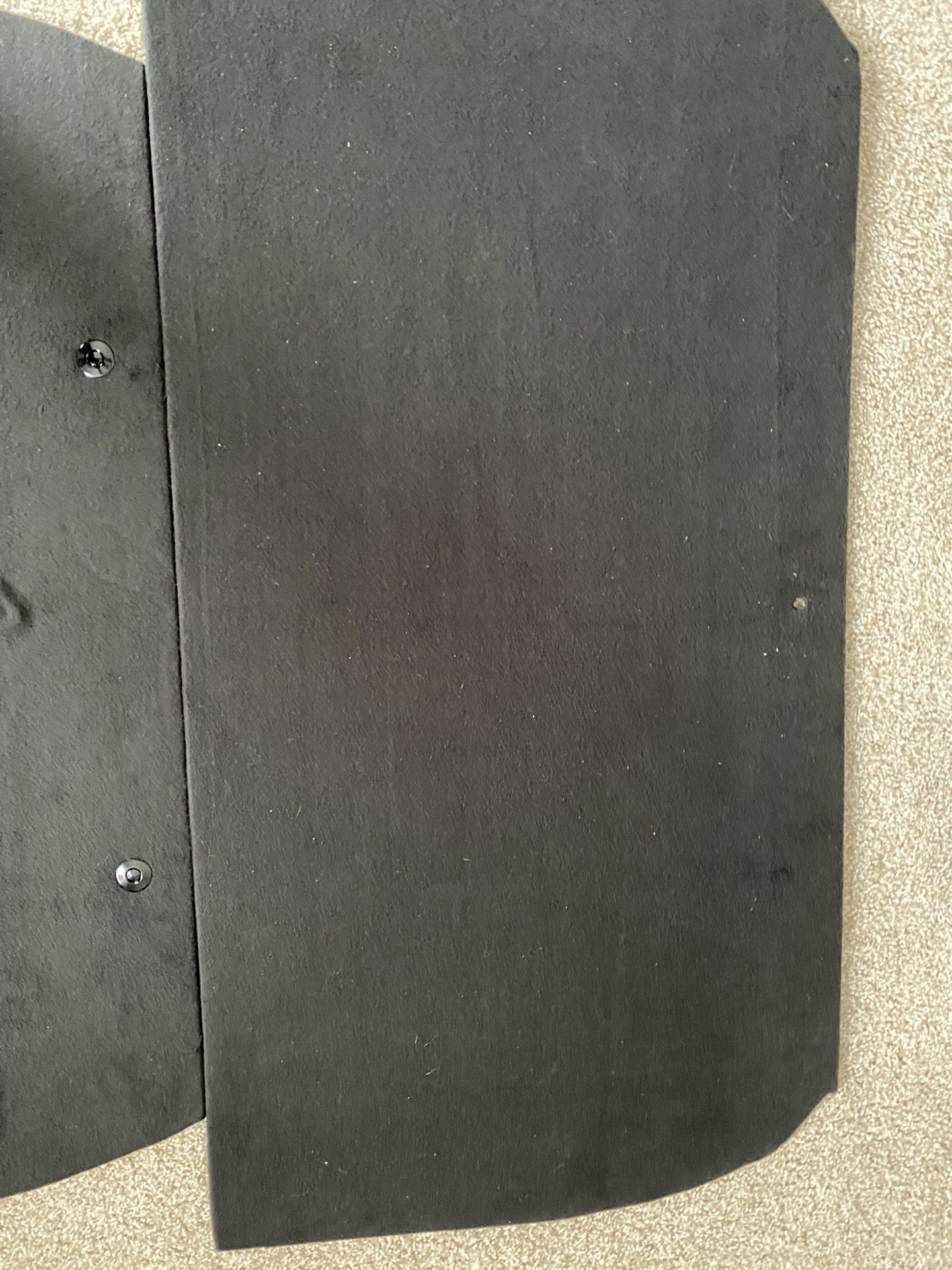 S550  MUSTANG REAR SEAT DELETE KIT