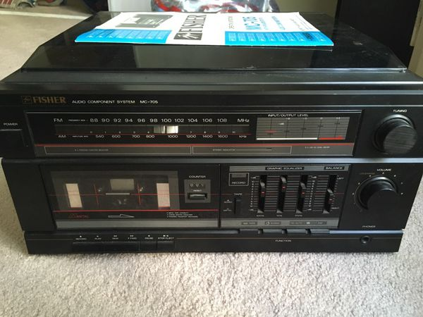 FISHER audio component system MC-705 for Sale in Glendale