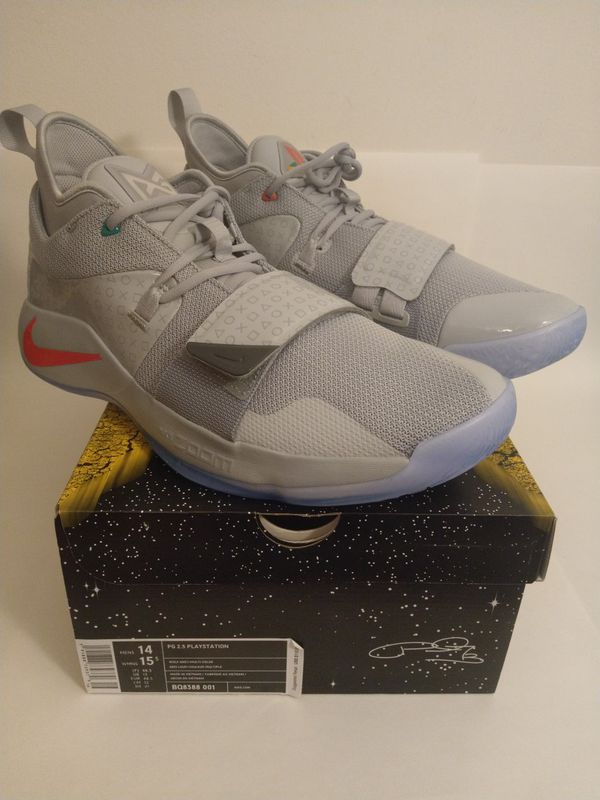 35a1d07892a0 Sz 14 100% AUTHENTIC PAUL GEORGE NIKE PG 2.5 PLAYSTATION WOLF GREY BQ8388- 001