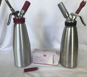 iSi gourmet whip Bottle including patrons for Sale in Austin, TX