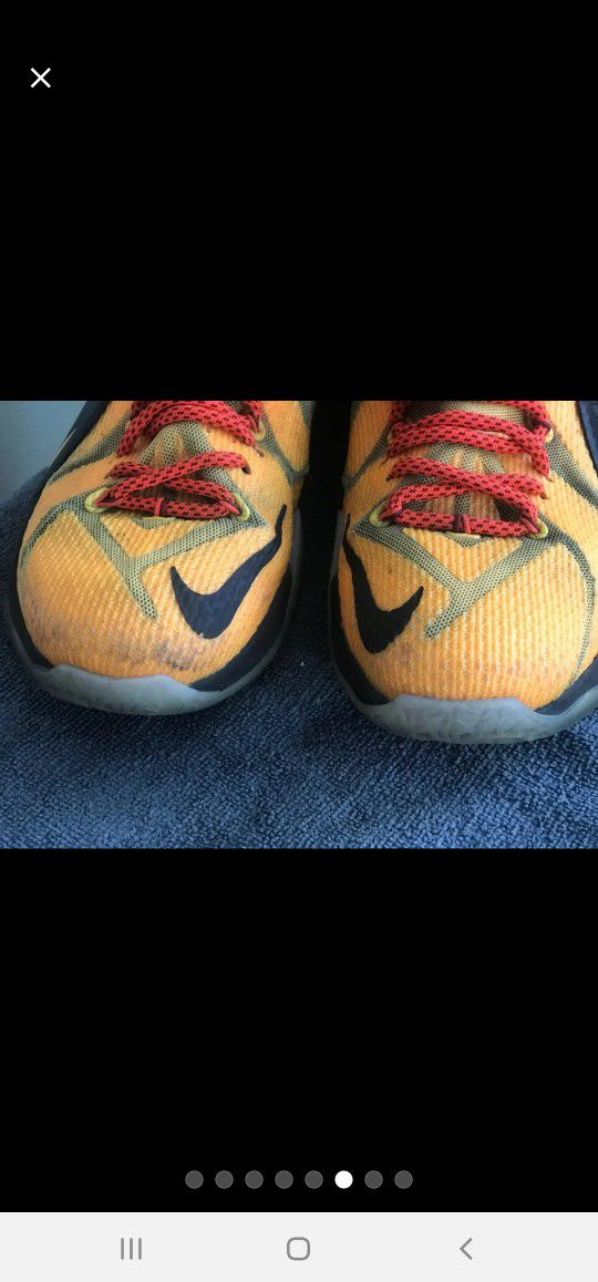 Mens Nike LeBron XII Witness Shoes Sz 8