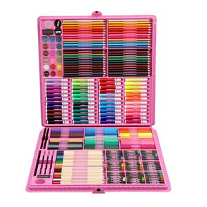 168/288pcs Art Set Painting Watercolor Drawing Tools Art Marker Brush Pen Supplies Kids For Gift Box Office Stationery for Sale in Westlake, MD