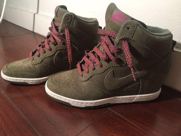 4b1579d9627 Nike  Dunk Sky Hi  Wedge Sneaker 7 52889-200 for Sale in Miami ...