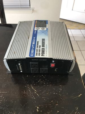 Power inverter 2000 watt/4000 peak for Sale in Las Vegas, NV