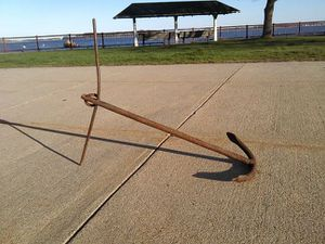 Boat anchor antique for Sale in Boston, MA