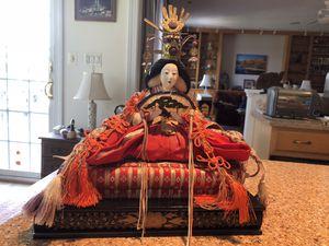 Japanese emperor and empress dolls for Sale in Hamilton, VA