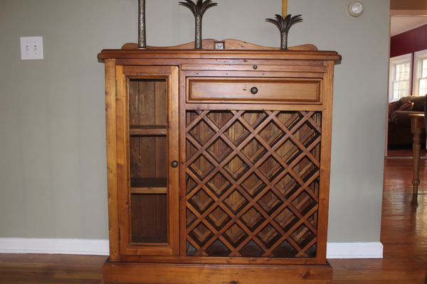 Wine cabinet for Sale in Shelton, CT - OfferUp