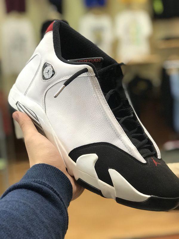 bfbc73ccb0ad85 Air Jordan 14 Black toe size 12 for Sale in Sugar Land
