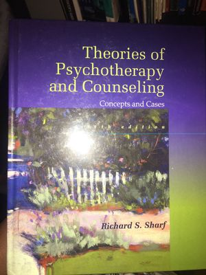 Theories of psychotherapy and counseling for Sale in Washington, DC