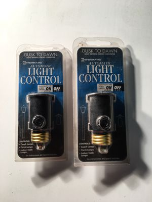 2 Automatic Light Control - Brand New for Sale in Baltimore, MD