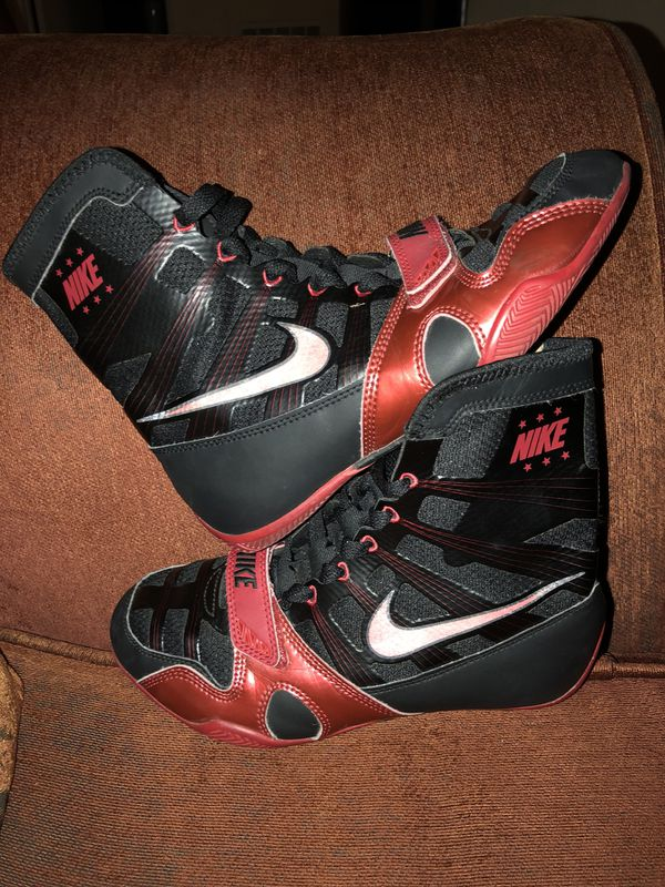 san francisco 0a897 54bb9 NIKE HYPERKO BOXING BOOTS SHOES
