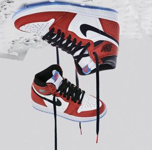 Jordan 1 Origin Story Spider-Verse size 10.5 and 11. Authentic new in box. Never worn for Sale in Richmond, VA