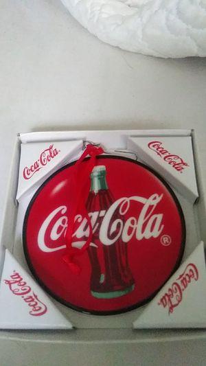 Enesco Coca Cola Christmas Ornament for Sale in Apopka, FL