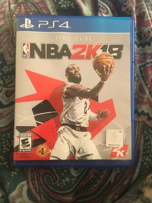 NBA 2k18 PS4 for Sale in Washington, DC