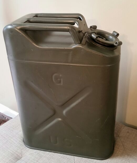 Vintage Us Military Jerry Gas Can For Sale In Chandler Az Offerup