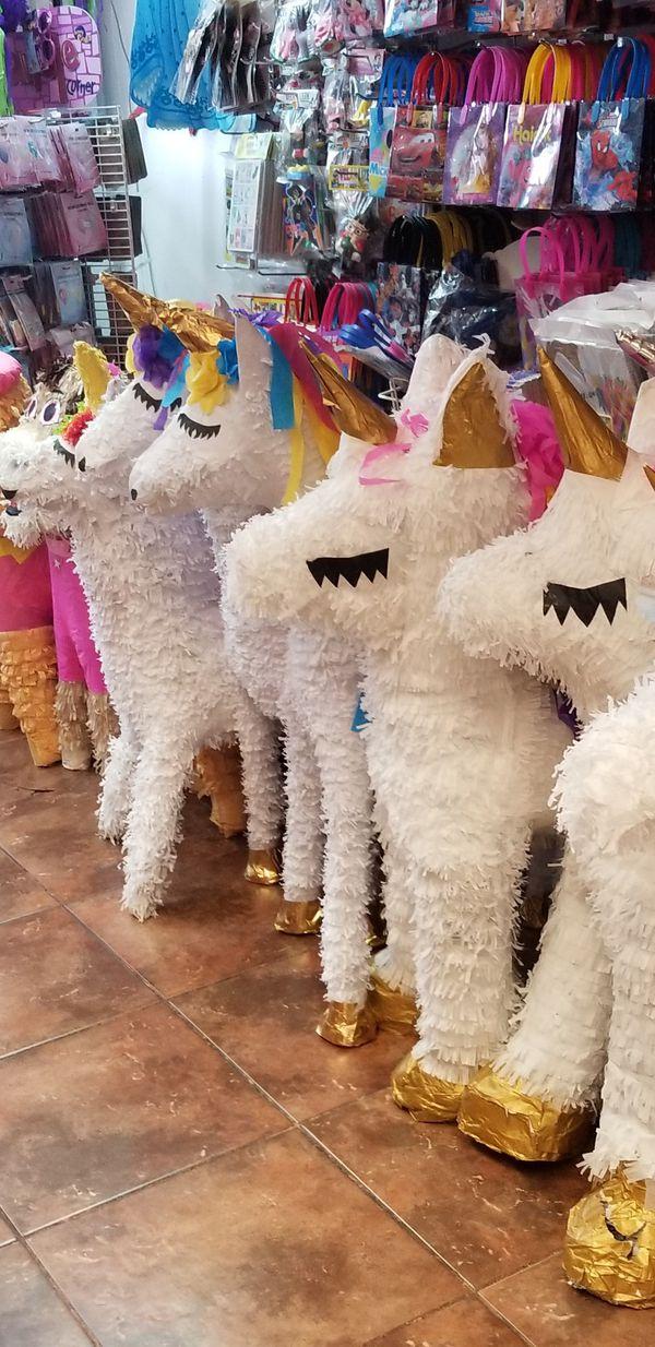 Unicorn pinatas custom pinatas for Sale in Dallas, TX - OfferUp