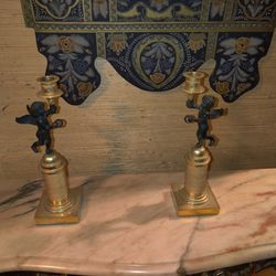 Cherub Candle Holders Thumbnail