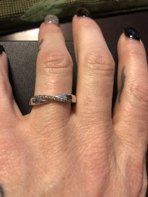 Simple wedding or engagement or promise ring for Sale in Alton, IL