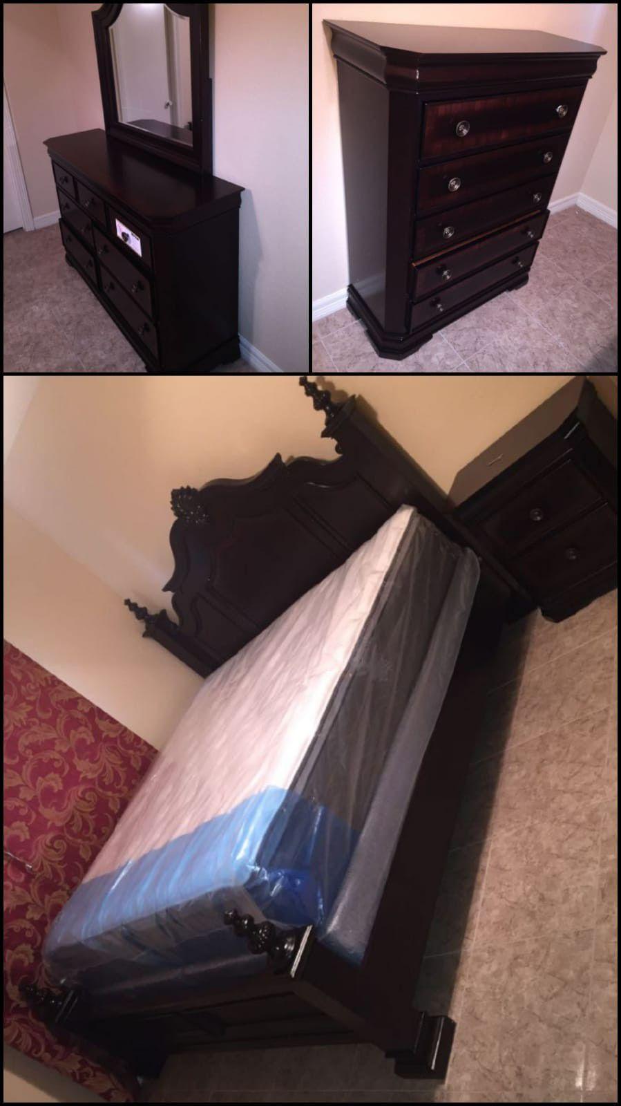 5pc bedrooms set queen