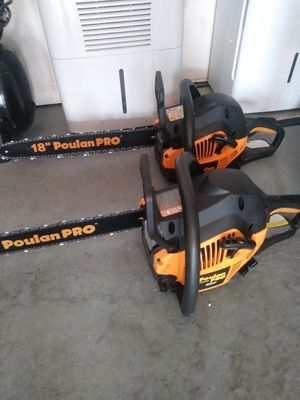 Poulan Chain Saw for Sale in Lockhart, FL