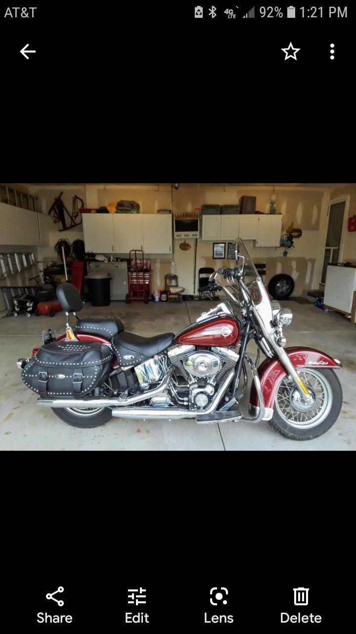 Photo 2002 Harley Heritage Softail