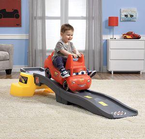 Photo Step2 Disney Pixar Cars 3 Up & Down Roller Coaster Kid's Roller Coaster