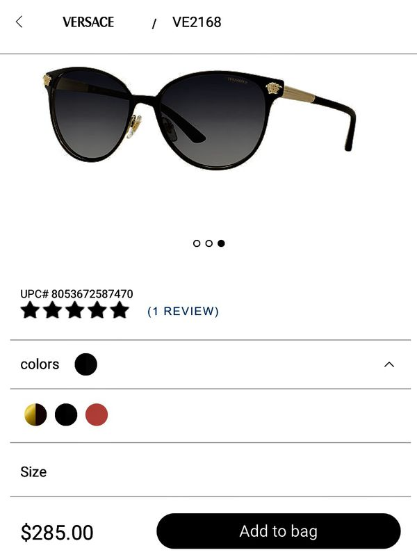 e59c1cb66a71 Versace Sunglasses in perfect condition for Sale in St. Louis