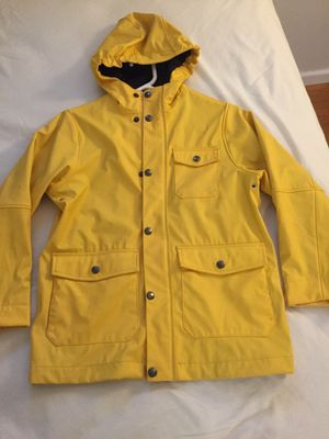Lands end . Raincoat with fleece lining for boys size 7 for Sale in Gaithersburg, MD