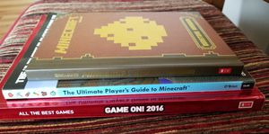 3 Gaming Books (GAME ON/Minecraft) for Sale in Mukilteo, WA