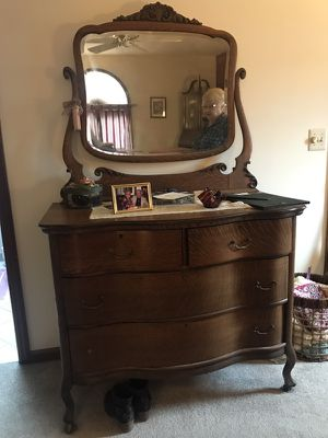 Antique Oak Dresser With Mirror Prices Bestdressers 2019