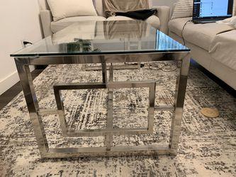Glass Living Room Table Thumbnail
