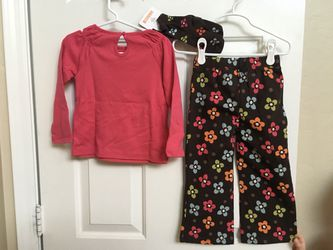 Gymboree, girls clothes, 2T, shirt, socks, pants, NWT Thumbnail