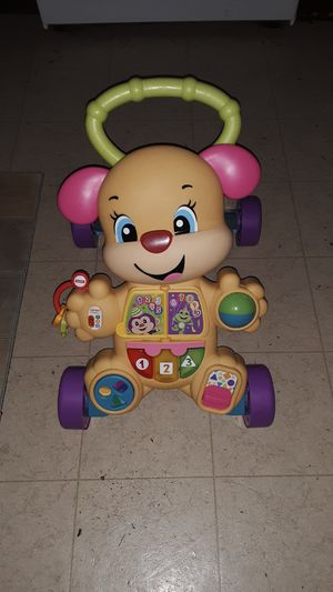 Photo Fisher Price laugh and learn walker toy