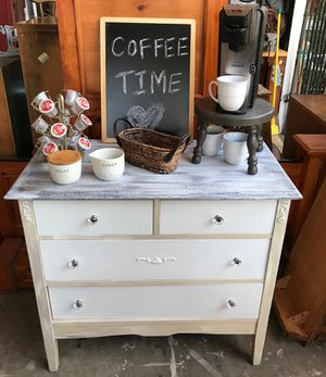 Industrial Farmhouse Coffee Station For Sale In El Cajon CA OfferUp - Coffee station table for sale