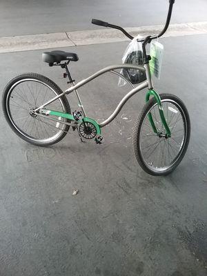 Photo Evo cruiser and Avigo Shimano equipped mountain bike brand new.