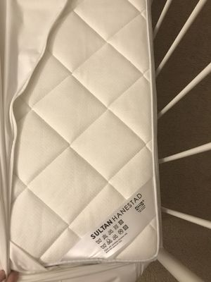 IKEA full size bed + mattress for Sale in Herndon, VA