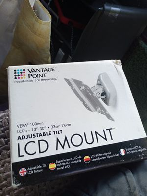 LCD TV mount new open box for Sale in Washington, DC