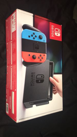 Nintendo Switch with 2 games. SOLD for Sale in Herndon, VA