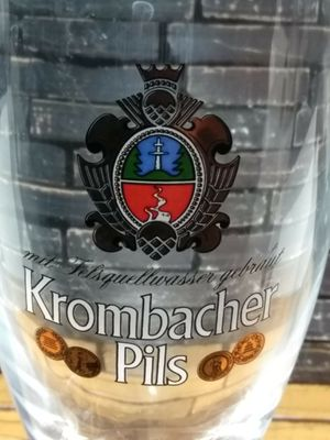 Krombacher Pils German Beer 0.2L Glass for Sale in El Paso, TX