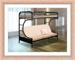 Twin futon bunkbed frame brand new free delivery for Sale in McLean, VA