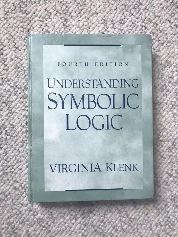 Understanding Symbolic Logic Textbook For Sale In Herndon Va