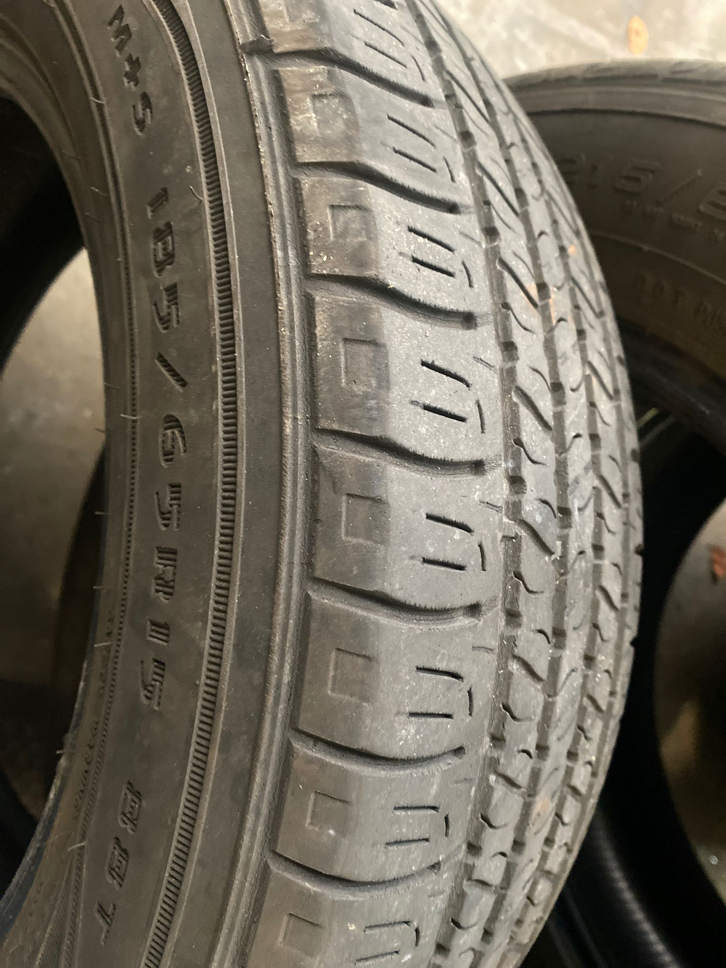 185 65 15 used tire Goodyear