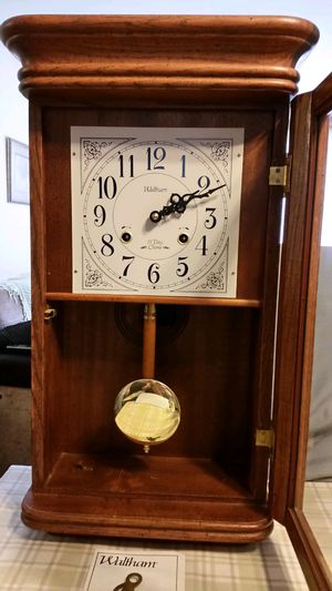 WALTHAM GRANDFATHER CLOCK ::MINT:: for Sale in Malverne, NY